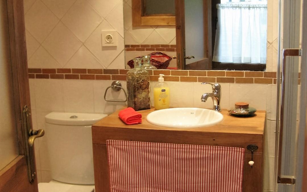 Baño casa de invitados