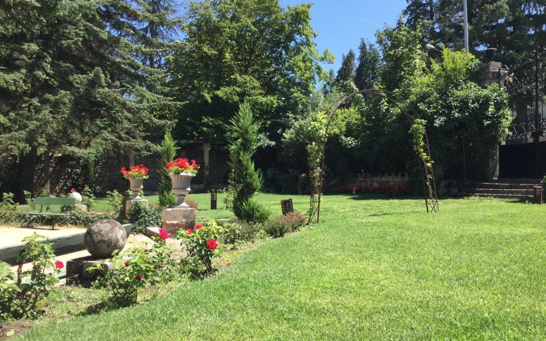 jardín al sur