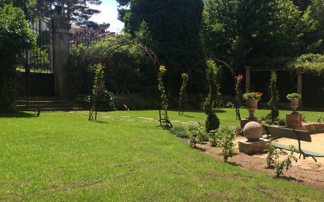 Jardín sur