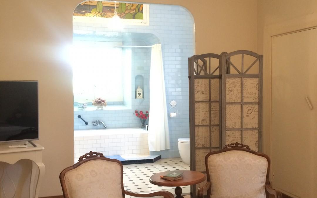 Dormitorio 1 en suite. Atardecer